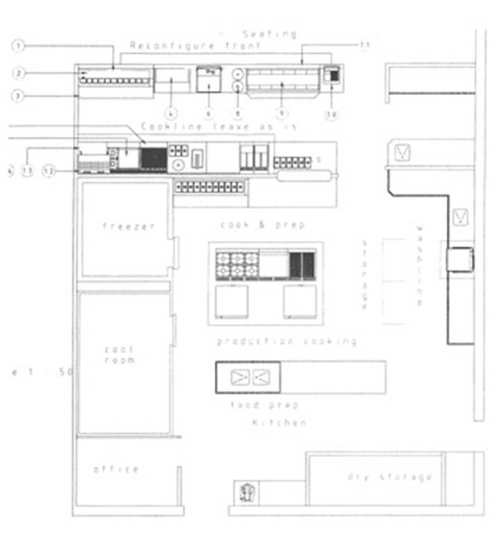 commercial kitchen design byron bay